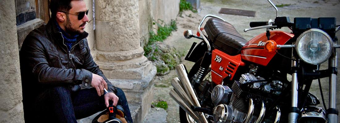 Blouson de moto