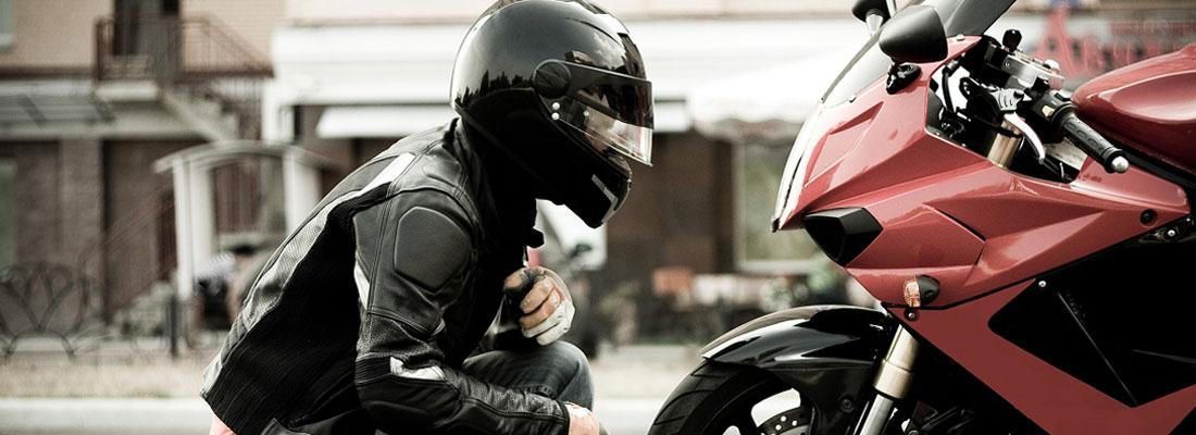 Casque professionnel pour moto